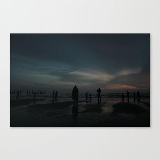 Ghost Beach Canvas Print