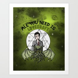 All You Need Is Love... Art Print