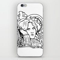 oscar wilde iPhone & iPod Skins featuring Oscar Wilde by LiseRichardson