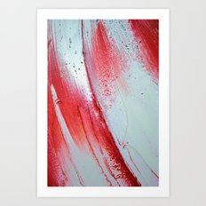 Acrylic Abstract on Canvas Art Print