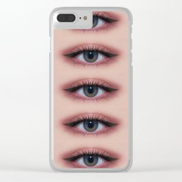 eyesSs on you Clear iPhone Case