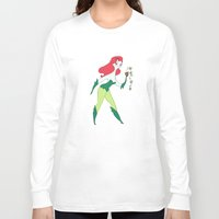 poison ivy Long Sleeve T-shirts featuring Poison Ivy by Kathryn Hudson Illustrations