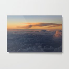 Cloud Mountains • V04 Metal Print