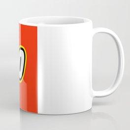 ERGO in Brick Font Logo Design by Chillee Wilson Coffee Mug