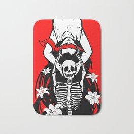 Life and Death Bath Mat