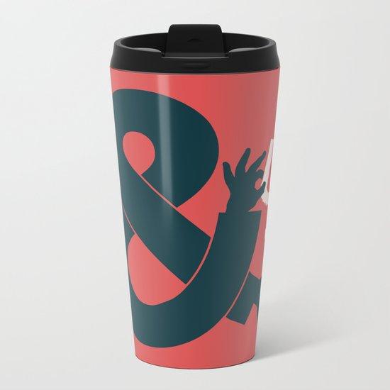 You and I, Ampersand Metal Travel Mug