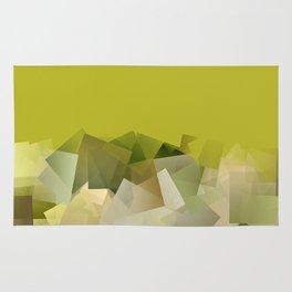Mount St. Victory geometric. Design for Paul Cézanne Rug