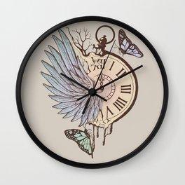 Le Temps Passe Vite (Time Flies) Wall Clock