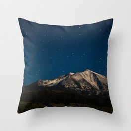 Mount Sopris & The Stars Throw Pillow