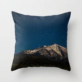 Mount Sopris & The Stars Throw Pillow