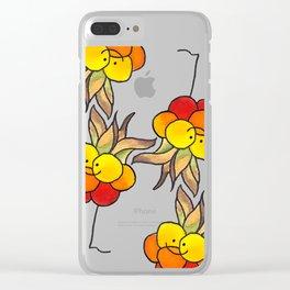 Cloudberry Clear iPhone Case