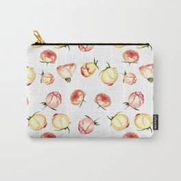 Vintage rose buds pattern Carry-All Pouch