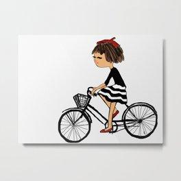 riding Metal Print