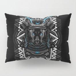 Samurai Panther Pillow Sham