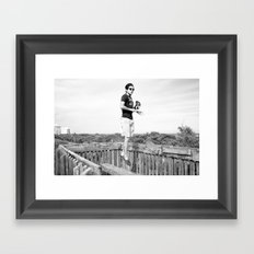 Levitation Framed Art Print