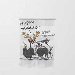 Happy Howlidays Wall Hanging