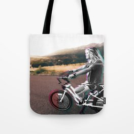 Glitching the ride Tote Bag