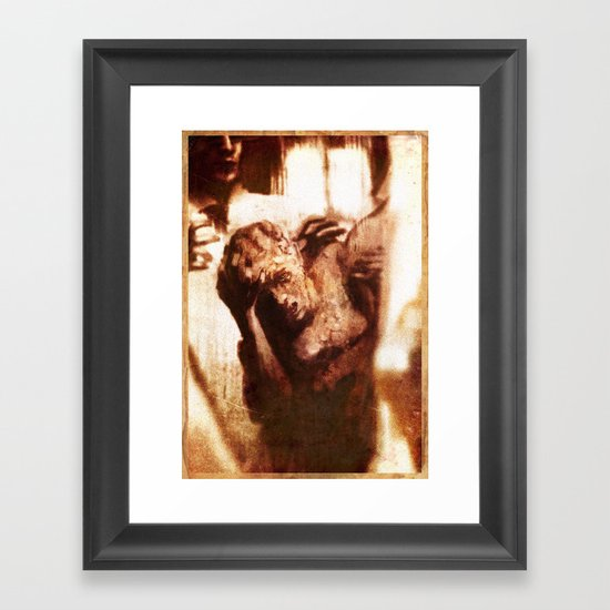 The Plague Framed Art Print