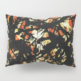 Vectorised and digitally modified, Jackson Pollock style fine art decor and clothing Pillow Sham