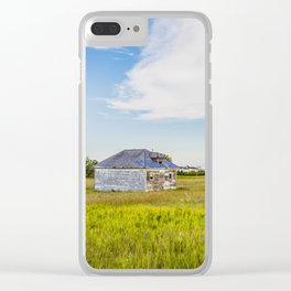 Palmgren Township School, North Dakota 1 Clear iPhone Case