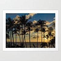 Evening in Paradise Art Print