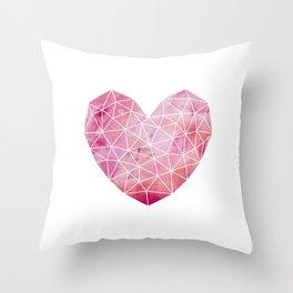 Heart No.1 Throw Pillow