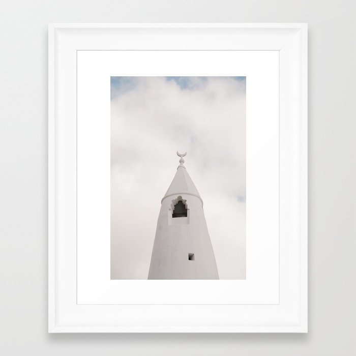 Sky Church Framed Art Print
