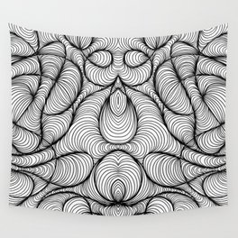 Waves Motion Wall Tapestry