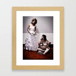 Let Her Eat Cake Framed Art Print