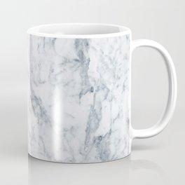 Vintage elegant navy blue white stylish marble Coffee Mug