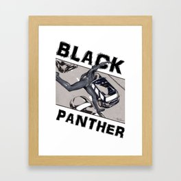Black Panther 2018 Framed Art Print