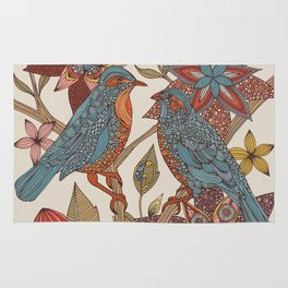 Lovebirds Rug