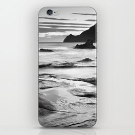 """Vela Blanca Tower"". Bw iPhone Skin"
