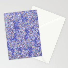 Purple Spiral Stationery Cards