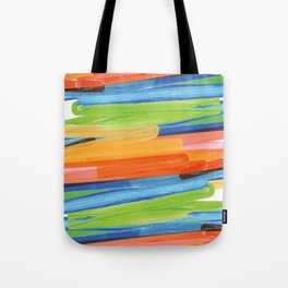 Color yellow red blue green Tote Bag