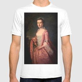 John Singleton Copley - Miss Rhoda Cranston T-shirt