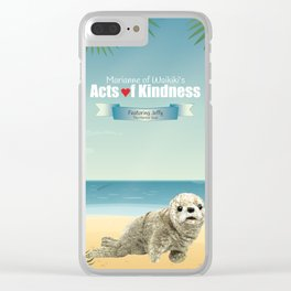 Jeffy The Harbor Seal Clear iPhone Case