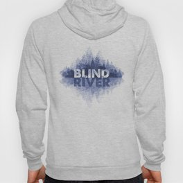 Blind River Trees (blue) Hoody
