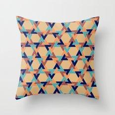 Geometric pattern 1977 Throw Pillow