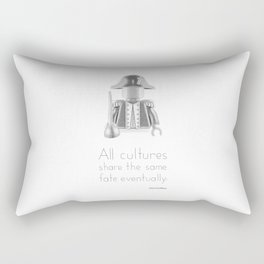 Colonial - All Cultures Share the Same Fate Eventually Rectangular Pillow