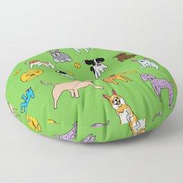 Dog Park Floor Pillow