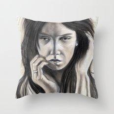 Sense of Doubt Throw Pillow