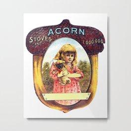 Acorn Stove & Ranges Metal Print