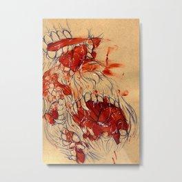 Mouths Metal Print