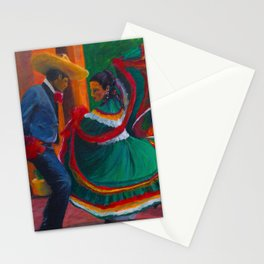 Baile Folklorico Stationery Cards