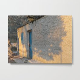 Sleepy Garden Wall Metal Print