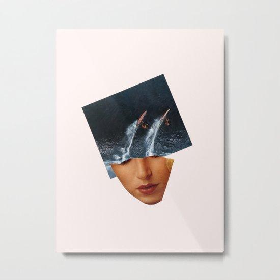 Surf Up Metal Print