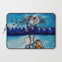 Moonlight Cypress Laptop Sleeve