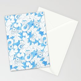 You and Me_ Blue Lines Stationery Cards