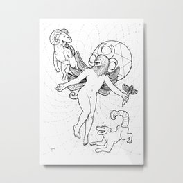Moon Magus Metal Print